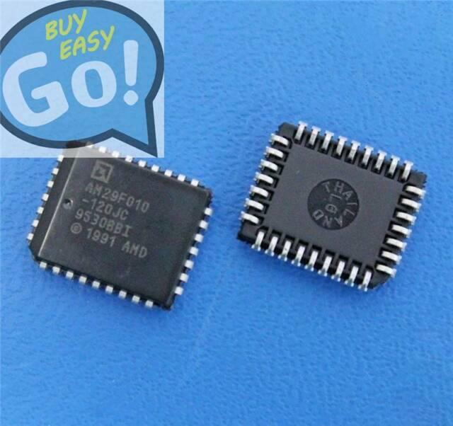 10PCS Flash Memory IC AMD PLCC-32 AM29F010A-120JC