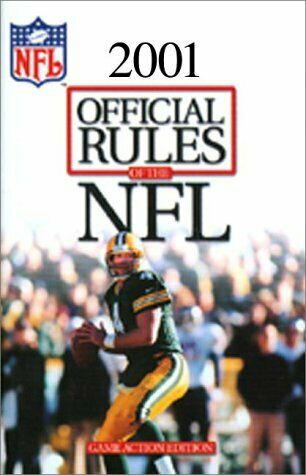 Official Playing Rules of the National Football League  1999  Officia
