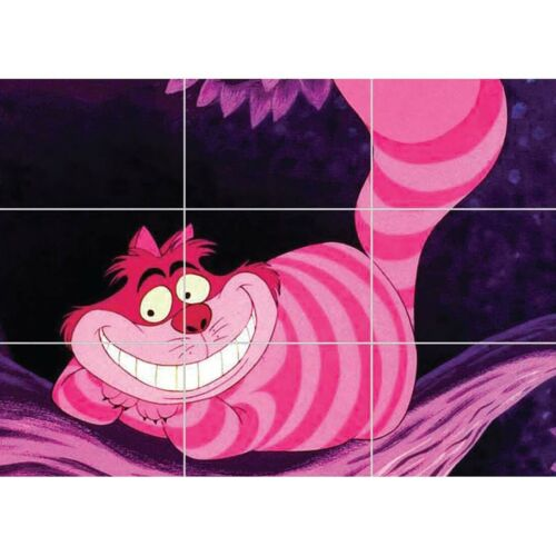 Cheshire Cat Alice In Wonderland Giant Wall Mural Art Poster Print 50x35 Inches