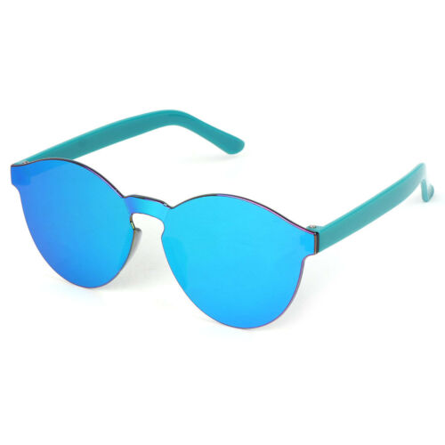 Kids Sunglasses Colorful Lens Rimless Fashion UV400 Summer Outdoor Protector