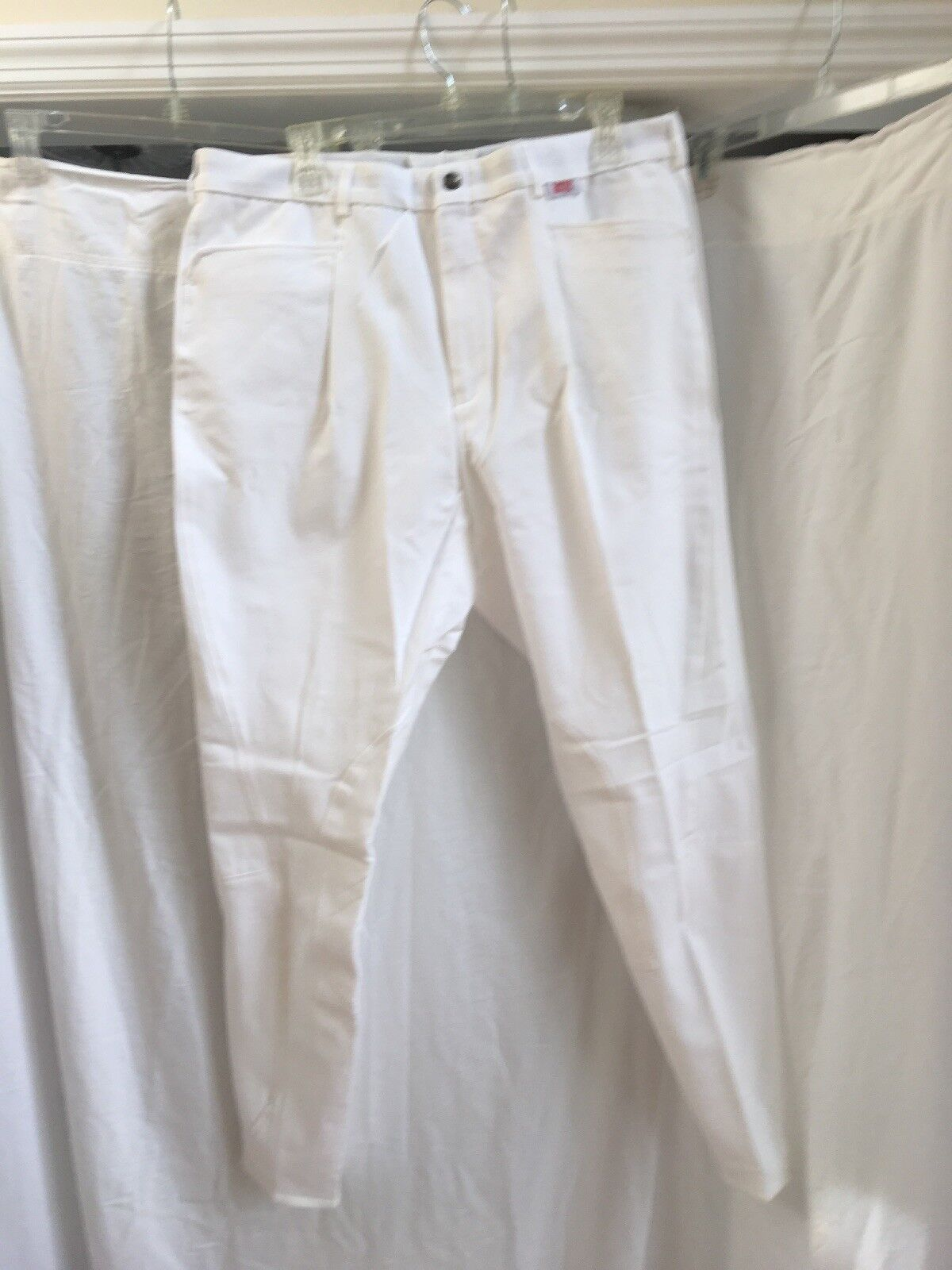 Men's Breeches By Sarm Hippque,  color White Size 38, 40 NWT