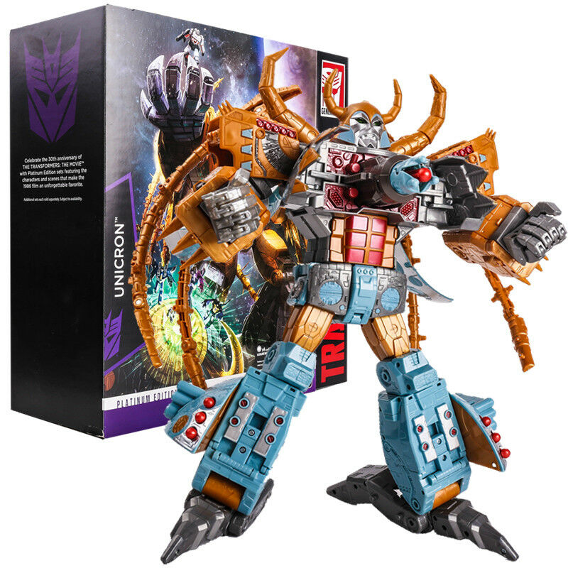 New Transformers Autobots Autobots Autobots Platinum Edition UNICRON Collection Action Figure 23bfbd