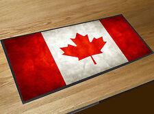 Canadian Flag red bar runner