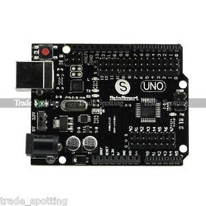 New-SainSmart-UNO-R3-Starter-Board-MEGA328P-AU-ATMEGA16U2-for-Arduino-Free-Cable