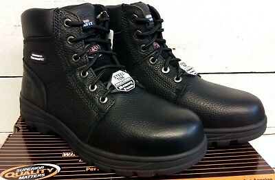 Skechers Work Relaxed Fit Workshire ST Safety Boots 77009EC Mens Memory Foam