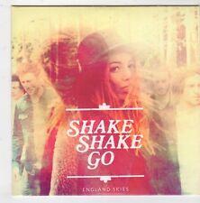 (GQ99) Shake Shake Go, England Skies - 2014 DJ CD