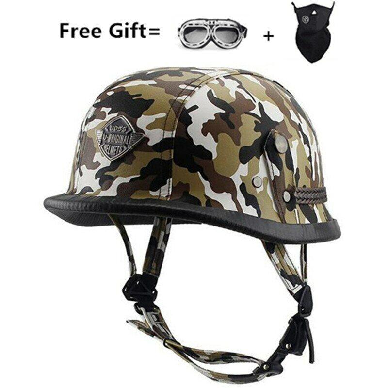 AMZ 805 Motorcycle Helmet German Military Helmet ABS Bicycle Half Helmet
