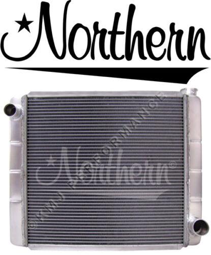 "Northern 209689 Triple Pass 2-Row Racing Aluminum Radiator GM Chevy 24/"" x 19/"""