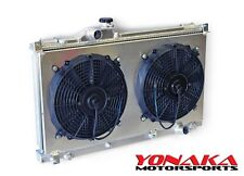 Yonaka Mazda Miata 1999-2005 Performance Aluminum Radiator w// Fan /& Shroud Kit