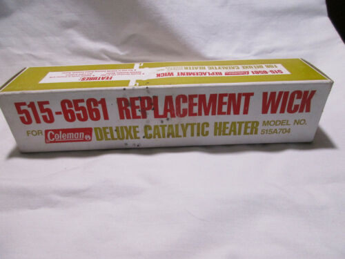 COLEMAN NEW OLD STOCK REPLACEMENT WICK FOR CATALYTIC HEATERS
