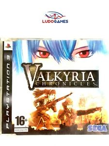 Valkyria-Chronicles-Pal-Eur-PS3-Promo-Retro-PLAYSTATION-Videojuego-Mint-State