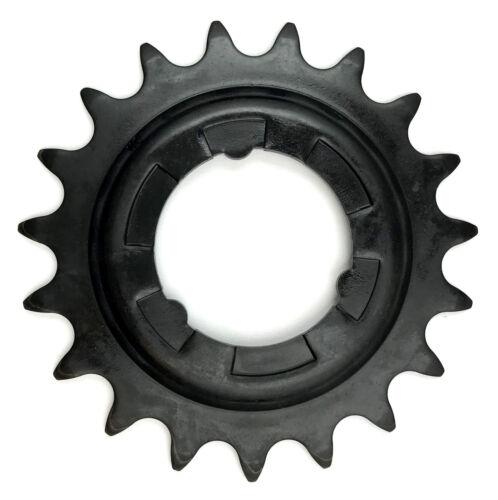 Shimano Steck-ruota di ingranaggio 19 denti per mozzo circuito 3-7 - 8 MARCE NERO