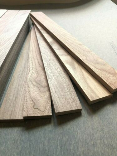 Noyer Bois-Bois naturel-bois 20 PIECES 48 mm x 10 mm x 400 mm long