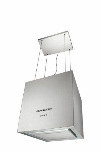 inox appendere 40cm LED dell/'aria NUOVO Schneider Isola Cappa cappa aspirante a