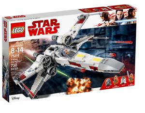 LEGO stjärnornas krig X vinge stjärnafighter SET 75218, Luke Skypromänader Biggs Darkljuser