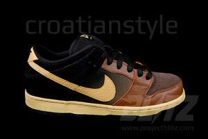 Nike pécan 12 chamois Low Dunk havane Sbnoir et 4 Premium cARS53jq4L