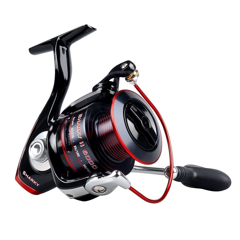 KastKing Sharky II Spinning Reel 10+1 Bearings for Freshwater Bass Fishing