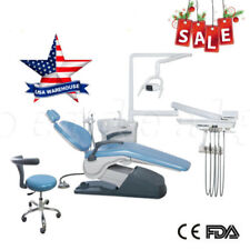 Dental Unit Chair Computer Controlled 110v 4hole Doctor Chair Stools Fda Ce Sa