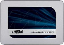Crucial CT1000MX500SSD1 3D TL SATA3 2.5in. 1TB Internal SSD - Blue/Gray