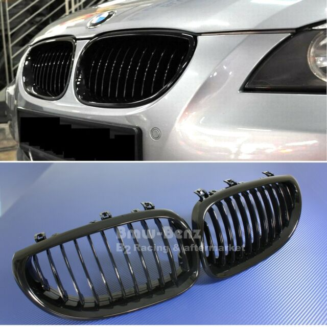 2004-2010 BMW E60 E61 5 Series M5 Front Grille / Front kidney grill Gloss Black