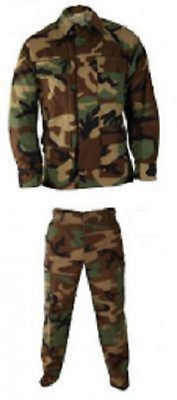 Us Army Tarnanzug Hose Jacke Coat Pants Bdu Wcp Woodland Camouflage Xlarge Long
