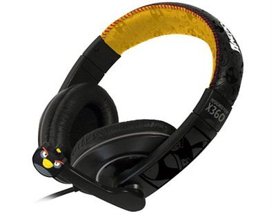 Xbox 360 Deluxe Gaming Headset - Ear Piece & Microphone By AngryBirds