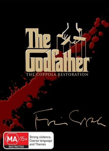 1 of 1 - The Godfather: The Coppola Restoration Collection (DVD, 2008, 5-Disc Set)
