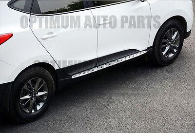 Hyundai IX35 2010-2015 Aluminum Running Boards Side Steps