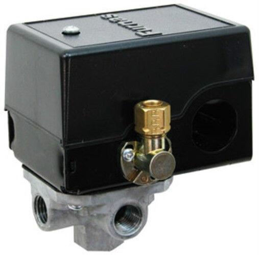 PS3535 Air Compressor Pressure Switch   125   95 psi  4-Port