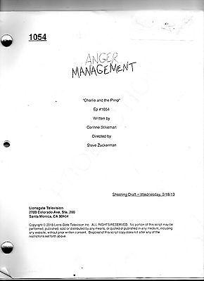 "Anger Management Script Charlie Sheen Episode # 1054  /"" Charlie and the Pimp /"""