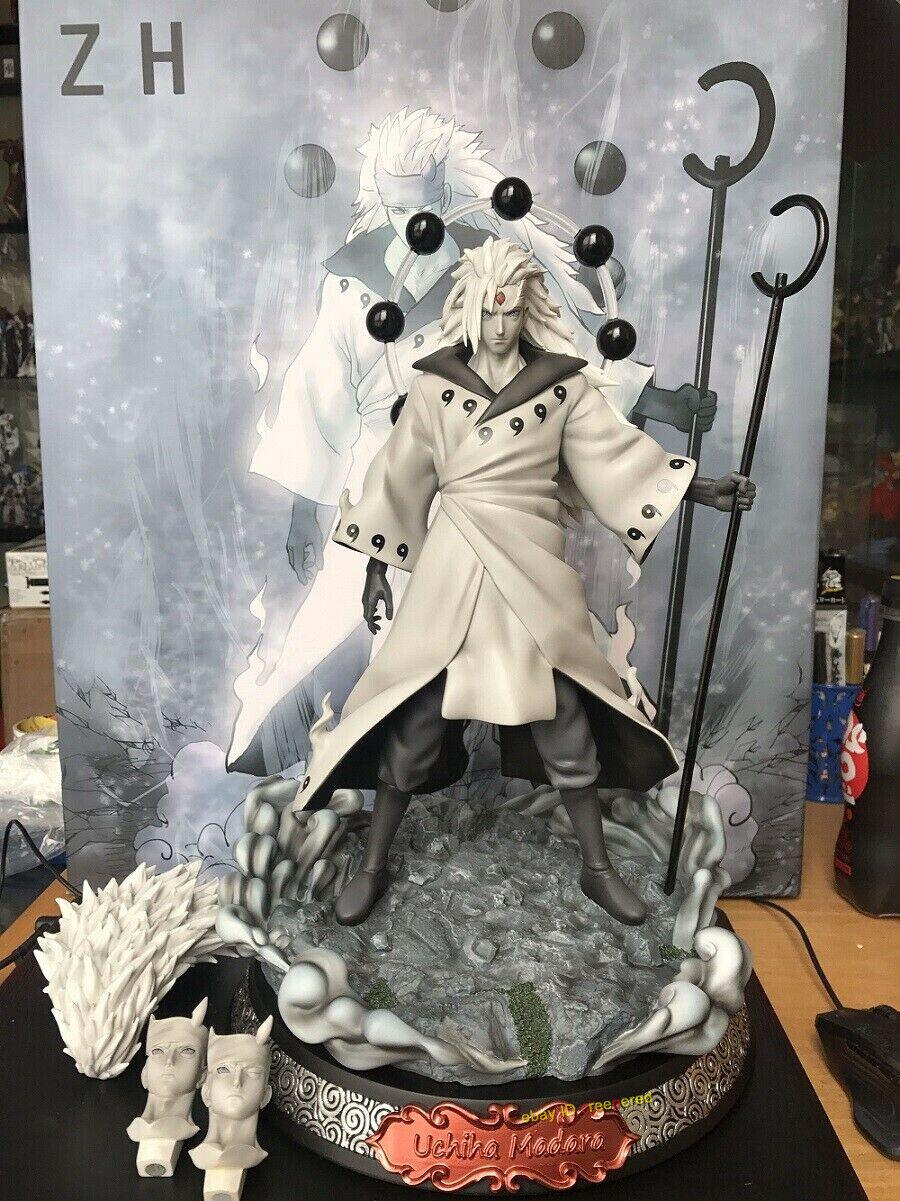 IN STOCK 1//8 Naruto Akatsuki Uchiha Madara Resin Model Anime GK Statue Figurine