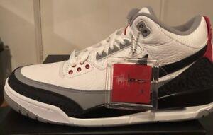 online store 9b332 68279 Details about Nike Air Jordan 3 Retro Tinker NRG 11 III Cement JTH Rare