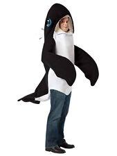 Adulto Killer Whale Fancy Dress Costume Orca De Los Animales Mamíferos Peces Para Hombre Para Mujer millones de EUR