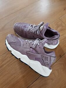 Nike Air Huarache Women,purple, Size Uk