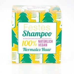 Lamazuna Festes Shampoo Vegan für normales Haar mit Waldkiefer Öl 55 g