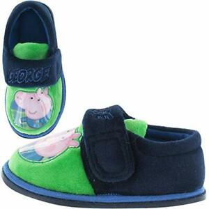 5759879175d Image is loading Peppa-Pig-Slippers-Peppa-Pig-George-Childrens-Slipper-