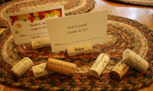100 Used Natural Wine Corks Cork Place Card Holders Wedding Vineyard Dinner