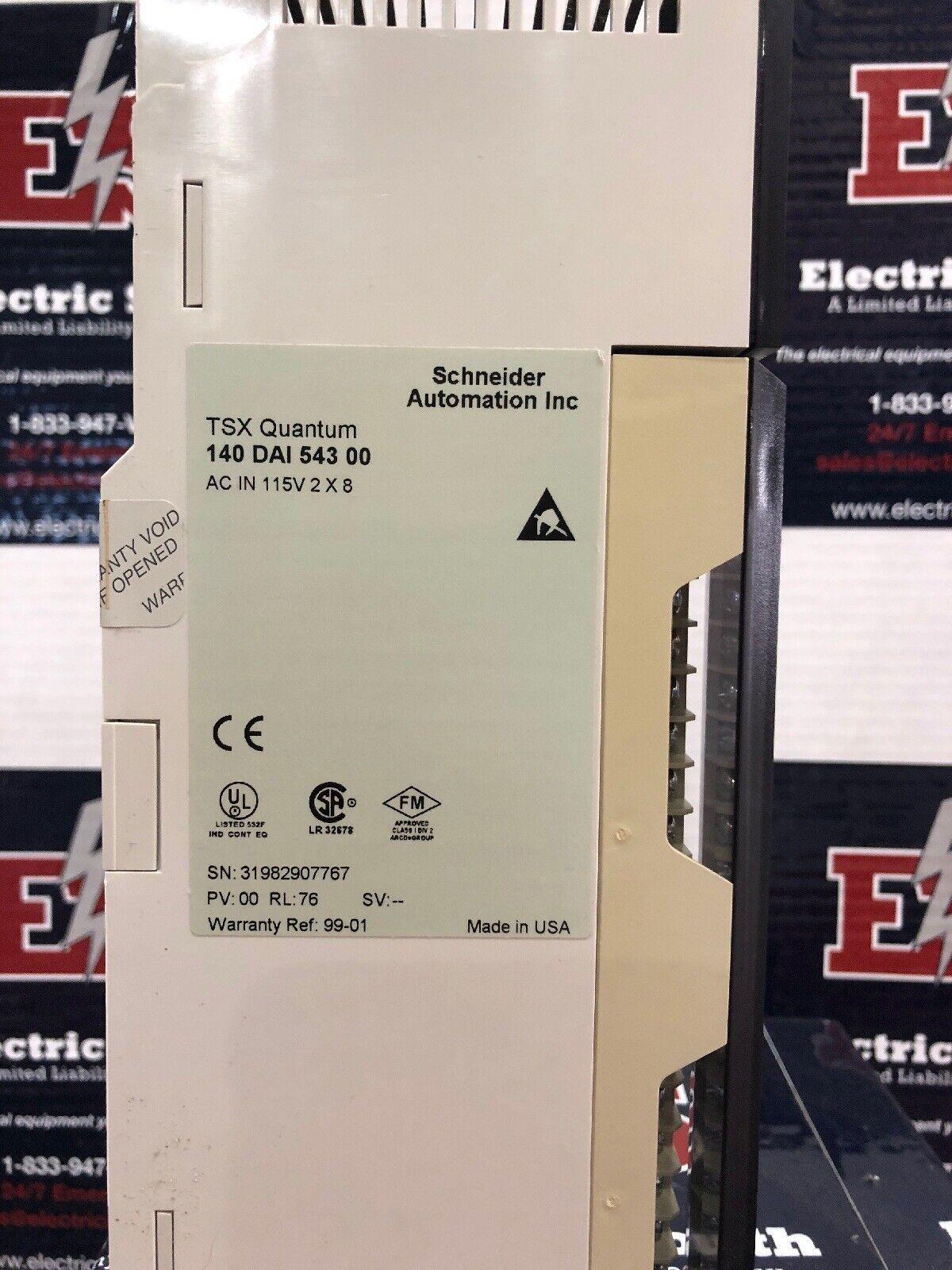140DAI54300 Modicon TSX Quantum 140DA154300  W15