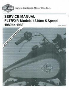 1982 Harley Tour glide repair manual