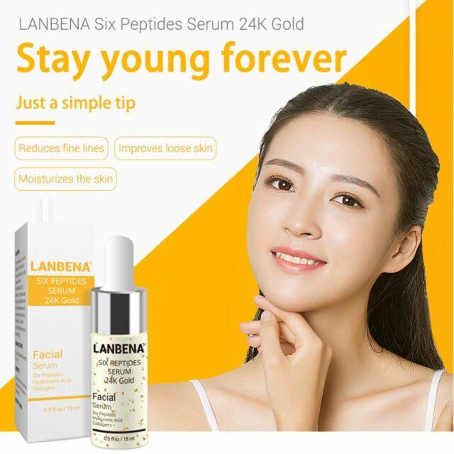 LANBENA Essence Face Facial Cream with Hyaluronic Acid Snail Repair Serum CA HOT