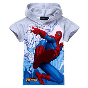 Top-Quality-Kids-Boys-Spiderman-Superhero-Children-Hoodie-Top-2-3-4-5-6-7-8years