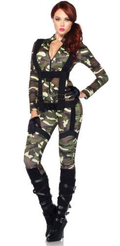 Army Parachute à la chasse tailleur neuf-femmes Carnaval déguisement Kos