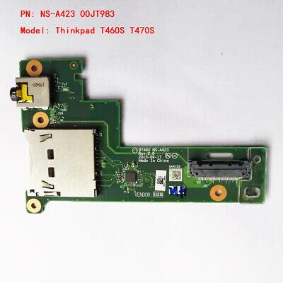 Lenovo Thinkpad T460s USB Board Audio Board SD Layer W//Cable NS-A423 00JT983