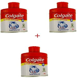 Details about 3 X Colgate Tooth Powder 50 gm 3X - from India