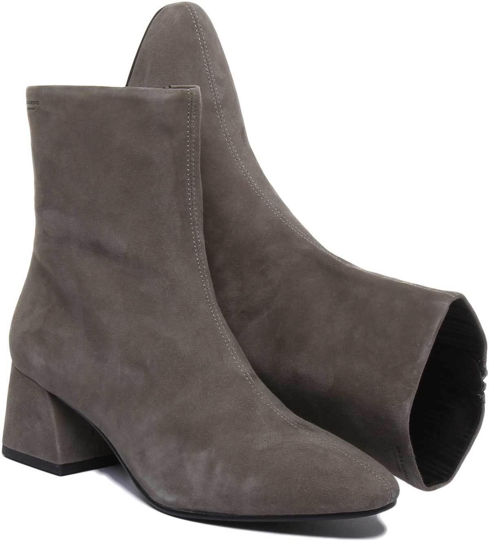 Vagabond Alice Ankle Women Boots In Olive Olive Olive Nubuck Leather UK Size 3 - 8 d6bde1