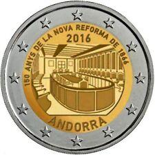 2 Euro commémorative d'Andorre 2016 Brillant Universel (BU) - Nouvelle Réforme