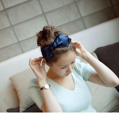 Beautiful Shiny Bow Headband Hair Bands Alice band for Girls /& Women UK stock
