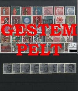 Germany-Federal-Frg-vintage-yearset-1964-Postmarked-Used-complete