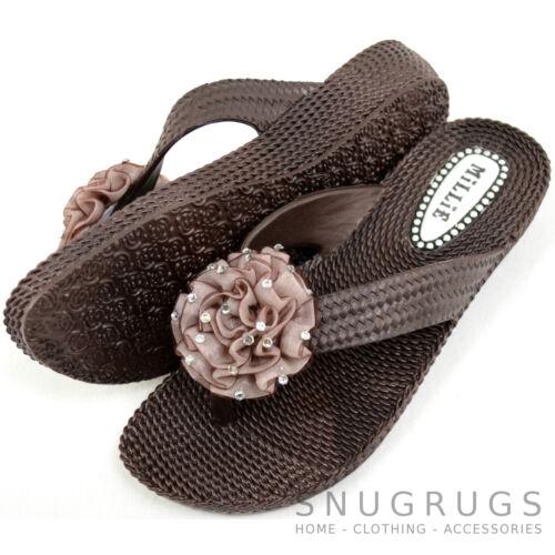 Flops Strass Vacation Flower Sandals Millie donna Flip Beach da Summer qvn0vrz1