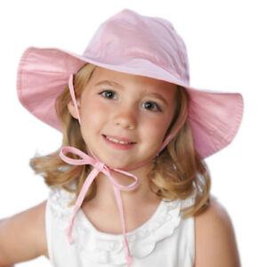 cbe4b1dba53 Image is loading Flap-Happy-Girls-Floppy-Hat-Pink-Kids-Summer-